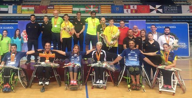 El parabádminton muestra su avance en los Campeonatos de España