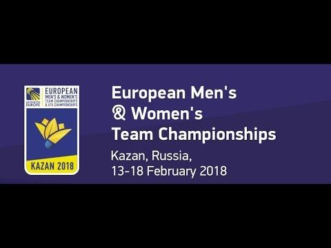 2018 European Men's & Women's Team Championships