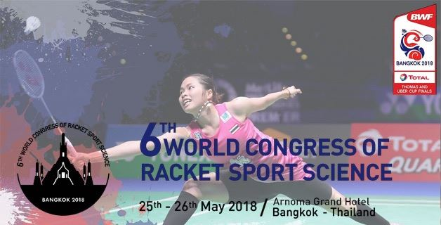 6th World Congress of Racket Sport Science